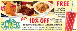 Plate Lunch Lahaina