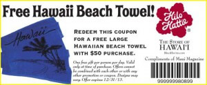 Free Beach Towel