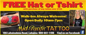 Tattoo Shop Lahaina Maui