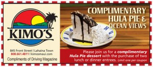 Kimo's Restaurant Maui Coupon