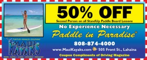 Standup Paddleboard Tours and Rentals