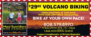 Bike Down the Volcano at your own pace