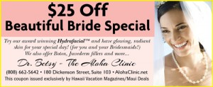 Aloha Clinic Coupon