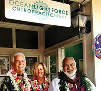 Ocean LightForce Chiropractic Maui Free Bio-Mat Session